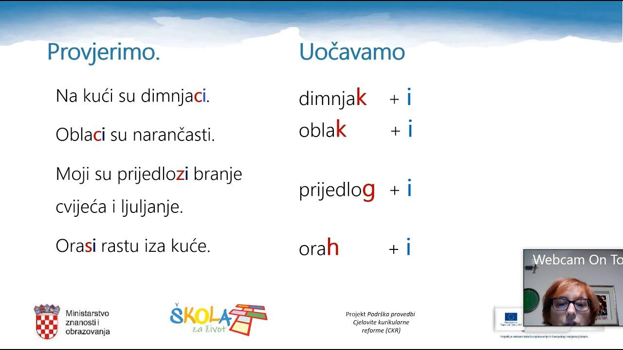 5. razred Hrvatski jezik - Tananyagok