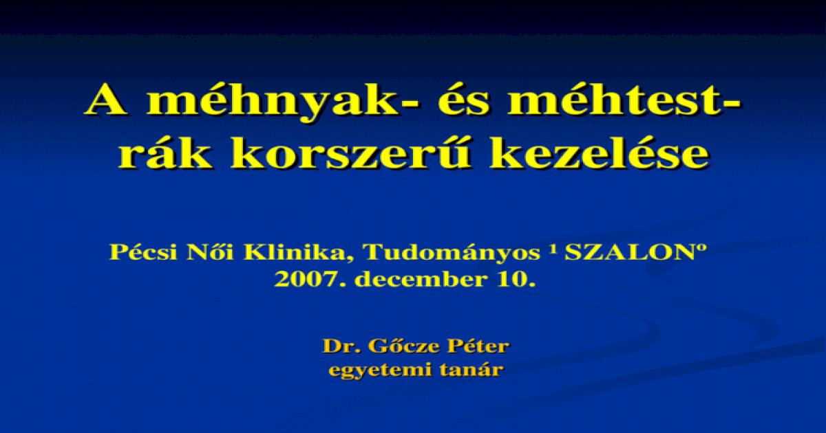 peritoneális rák kiújulása)