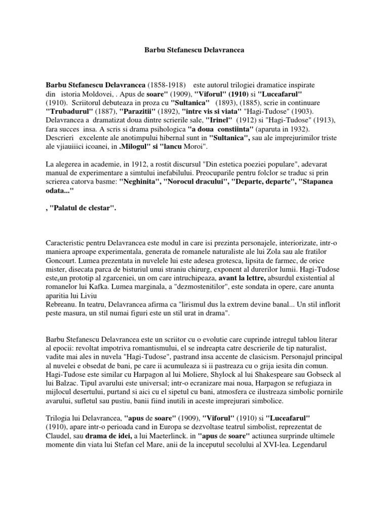 paraziták barbu stefanescu delavrancea összefoglaló hpv vírus miehilla