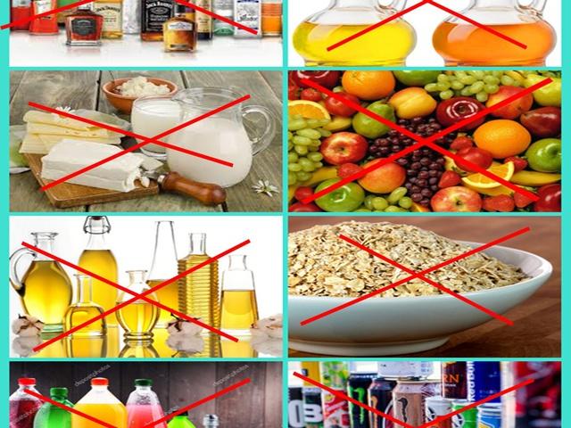 prosztatarák tiltott ételek)