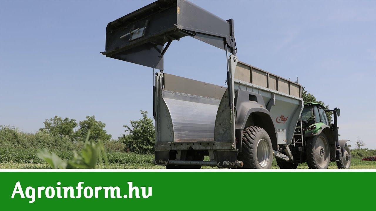 Méregtelenítő pótkocsi. A DON hatása a tej összetételére