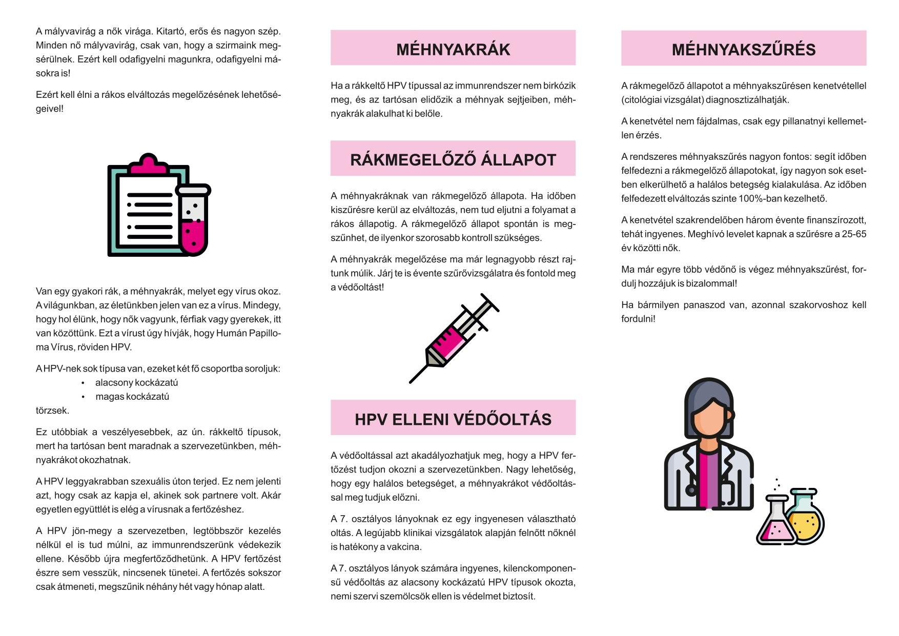hpv kezelés és megelőzés