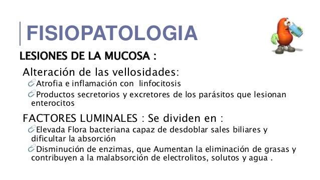 a giardiasis patogenezise)