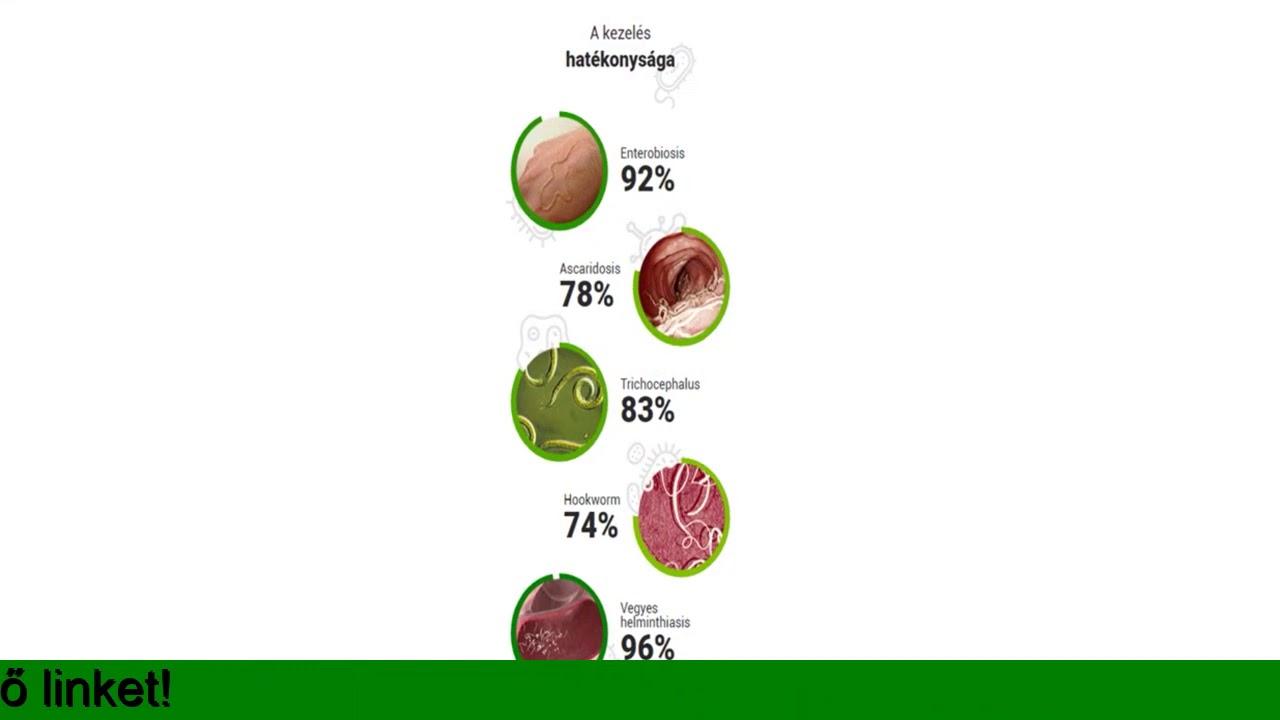 annál jobb az enterobiosis kezelésére