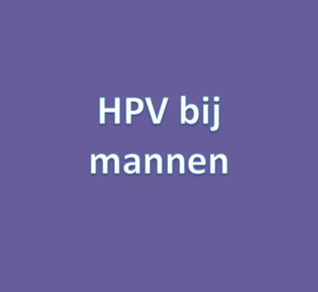 hpv vírus mannen genezen
