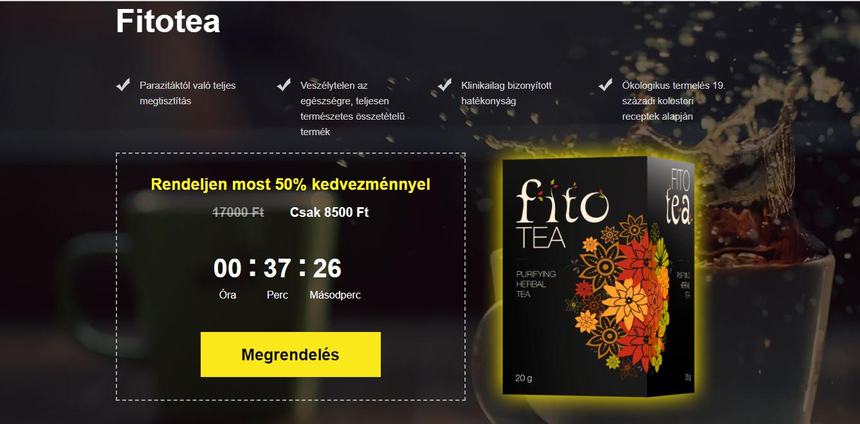 bélféreg tea)