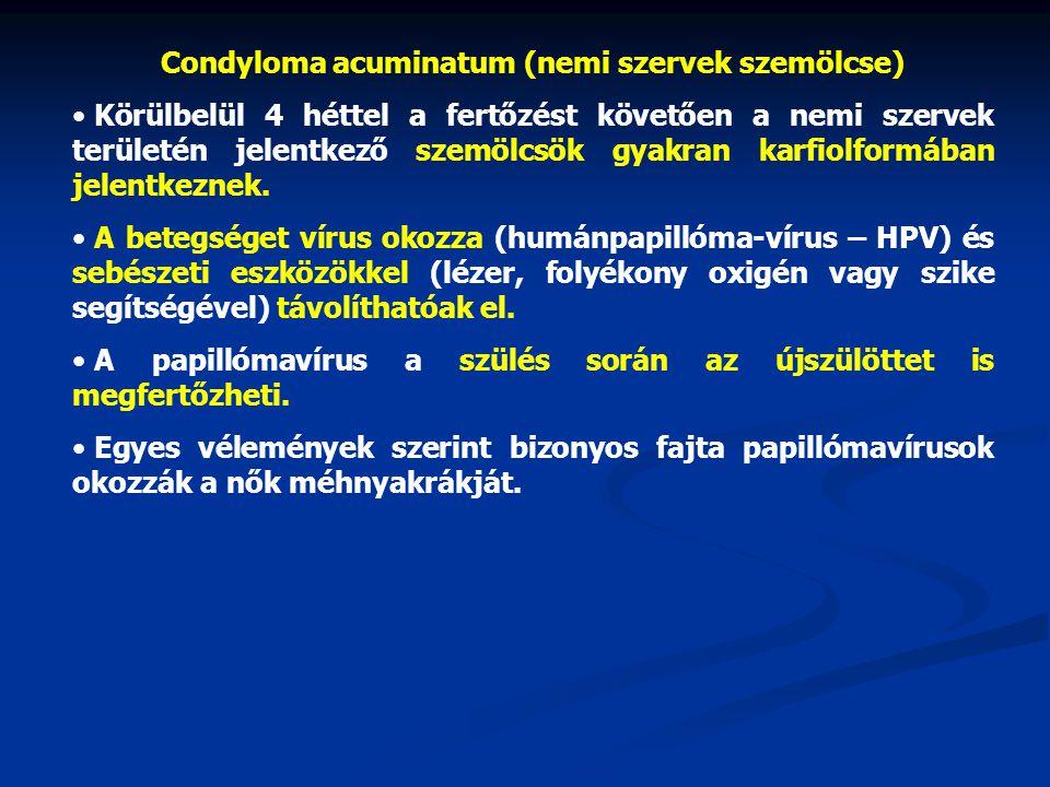 papillomavírus kondilómák családi rákos irányelvek