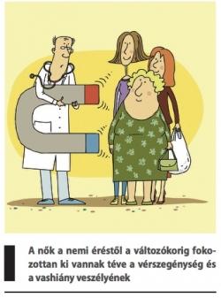 vérszegénység röntgen