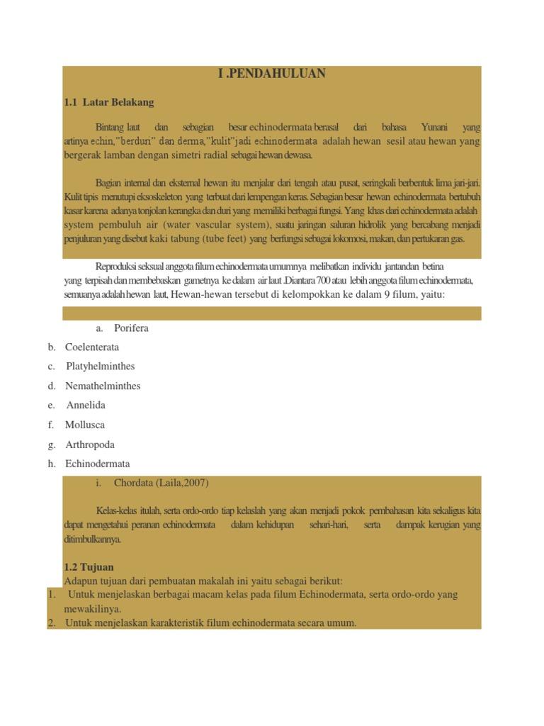 nemathelminthes filum peranan dalam kehidupan